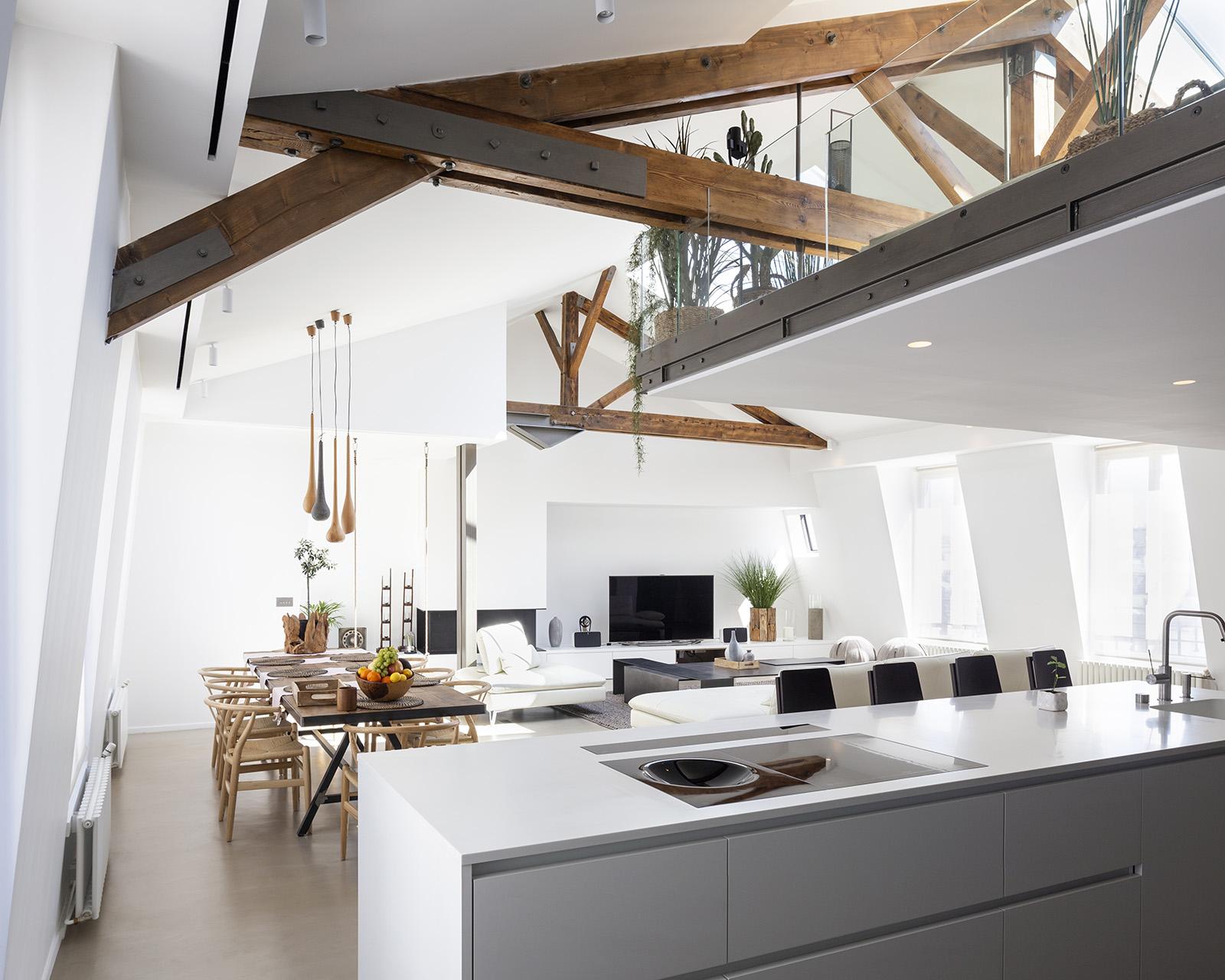 Appartement rue du renard, Paris. Architecte: Gwenaelle Morice;